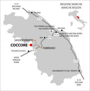 arrivare a Coccore