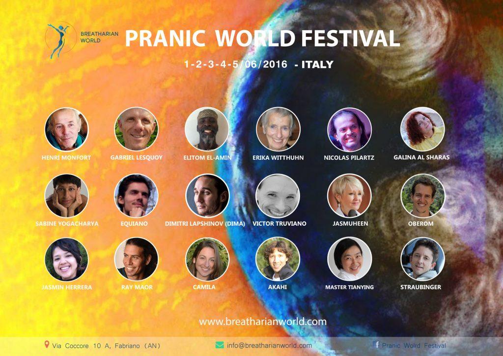 pranic world festival poster