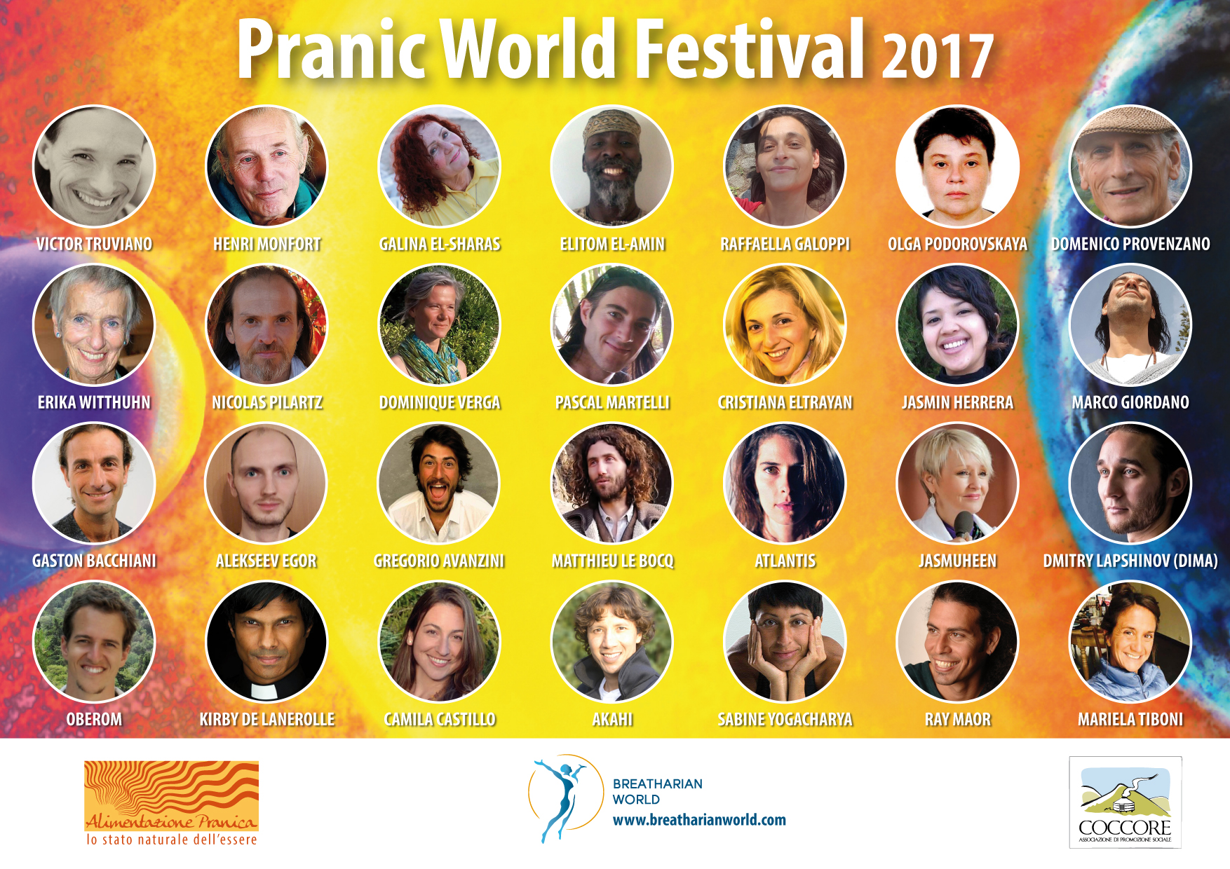 pranic world festival guests