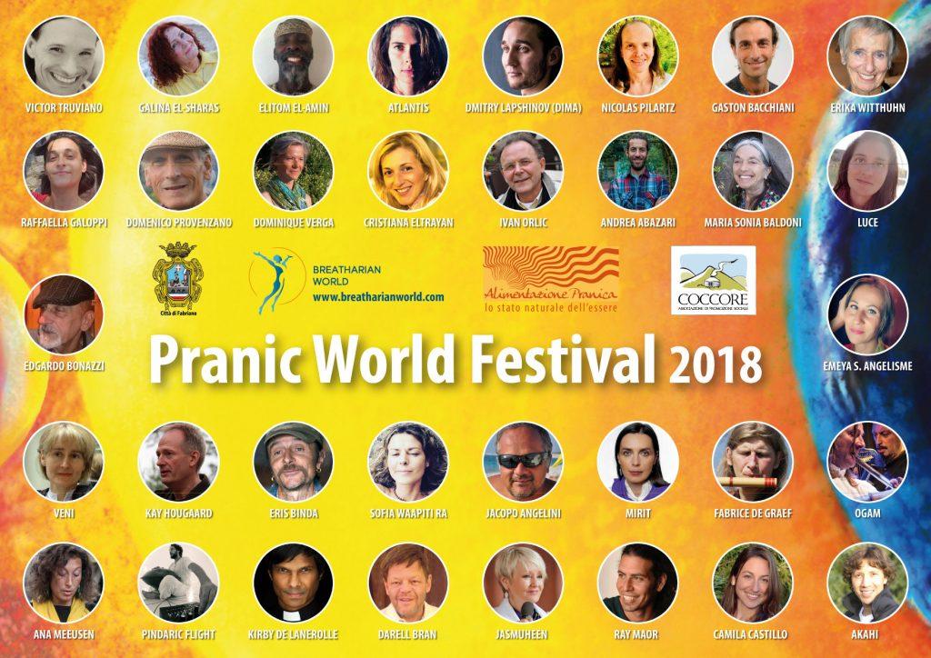 poster Pranic World Festival 2018
