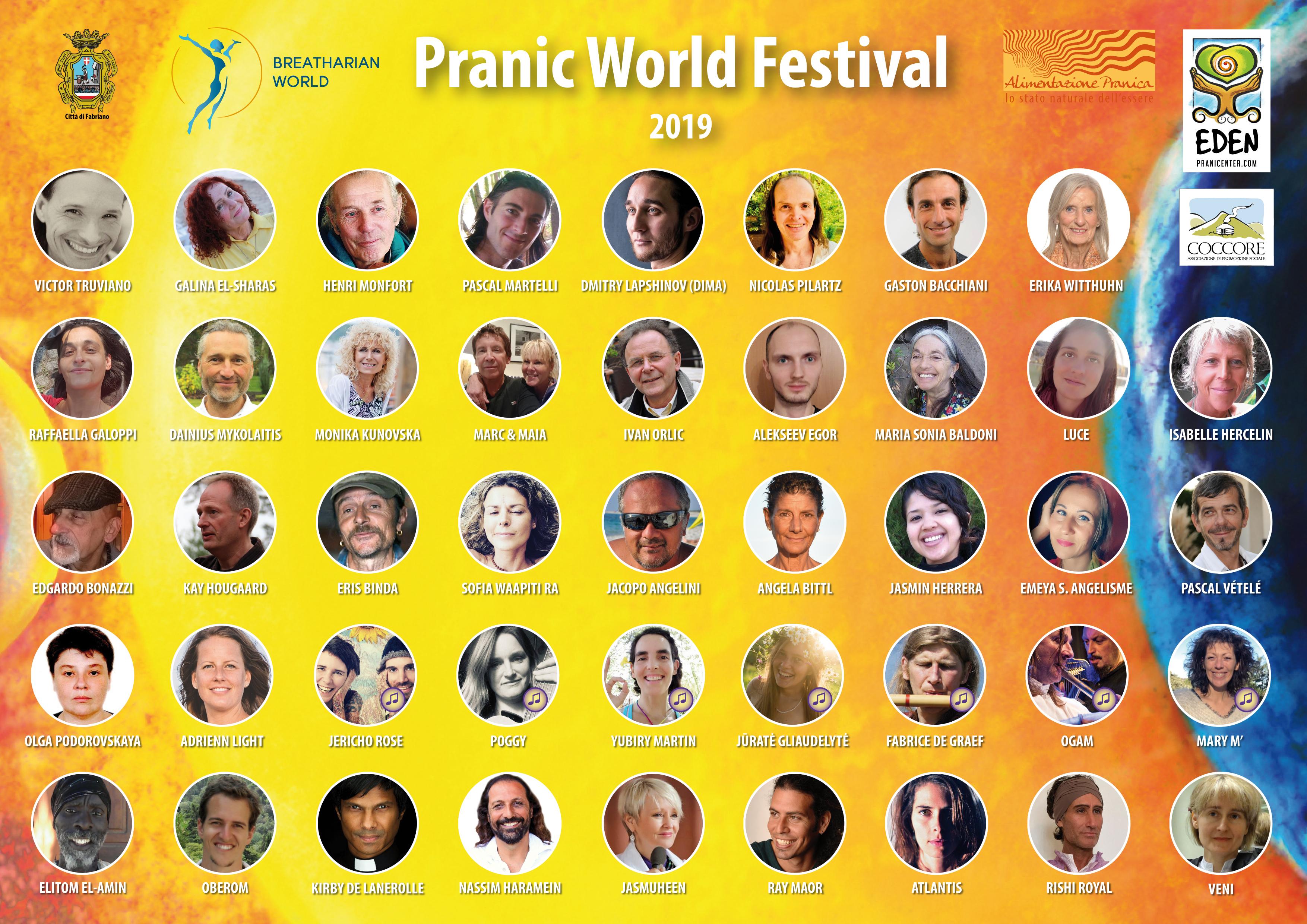 poster Pranic World Festival 2019